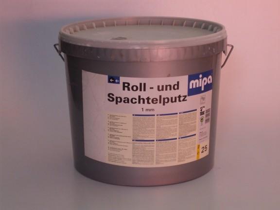 Roll – und Spachtelputz