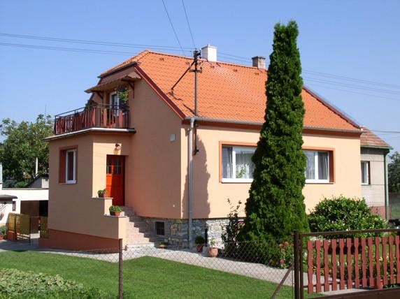 Zateplení fasády Hrdibořice